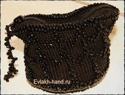 sepia purse